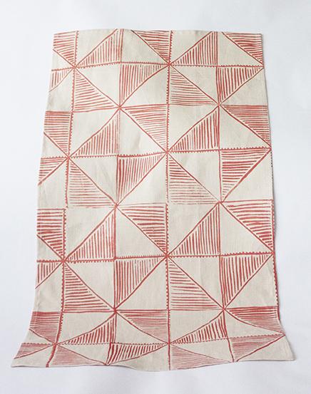 Chantel Traub_40 Triangles Tea Towel_2015