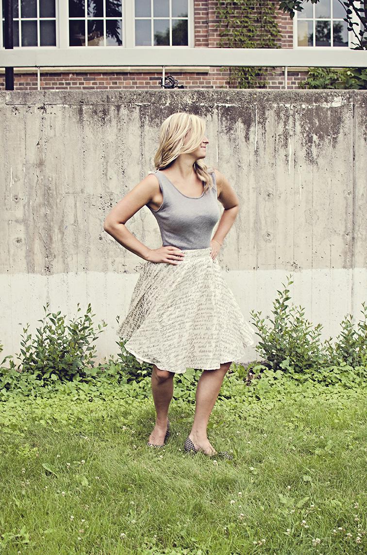 Chantel Traub_Paroles Skirt_2013