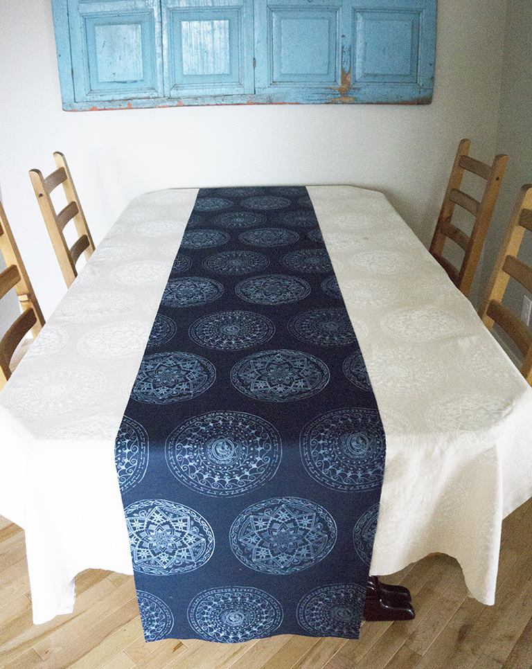 Chantel Traub_Pysanky Table Runner_2015