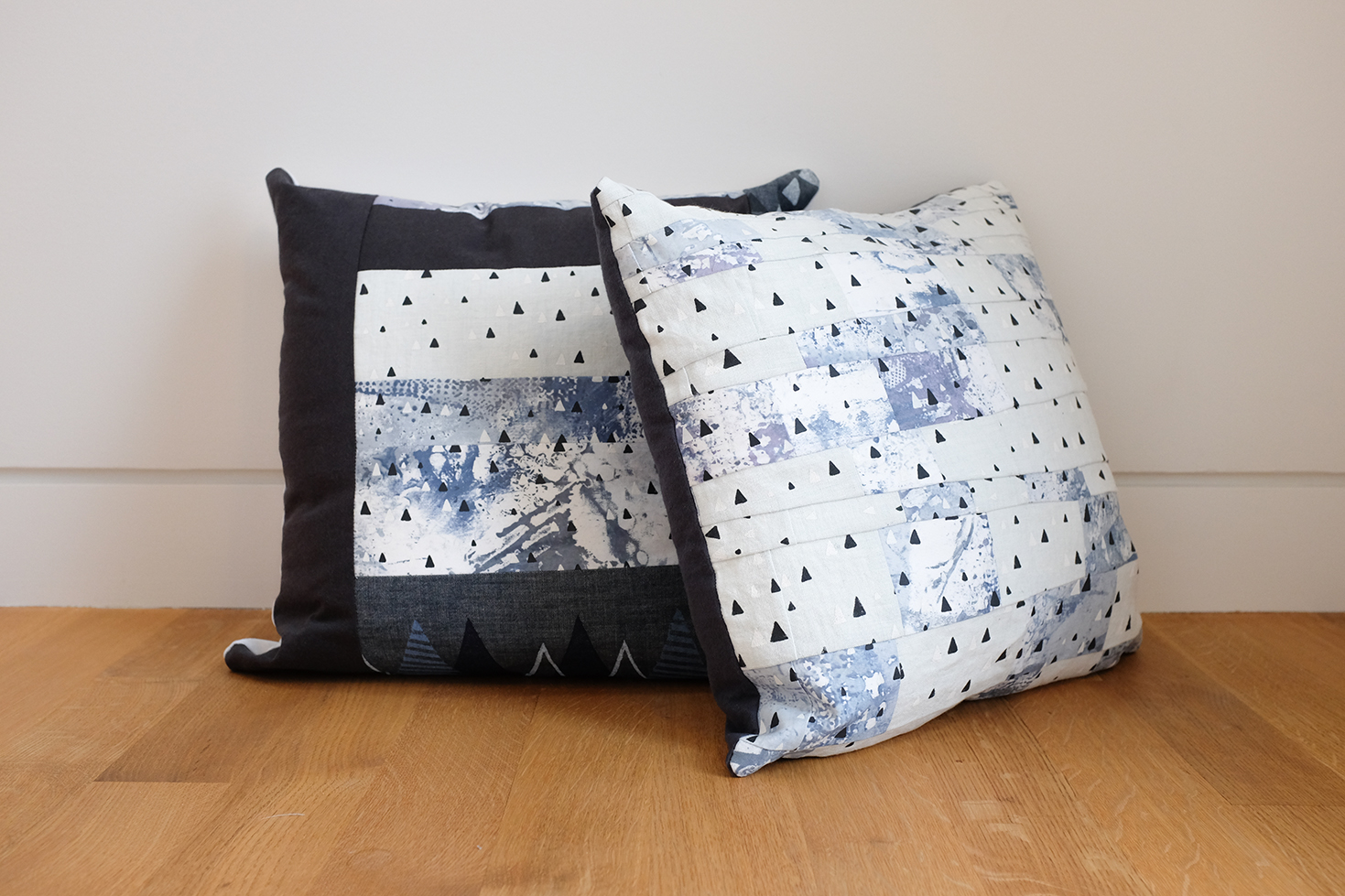 Charis-pieced pillows2