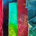 silk dyes printe devore