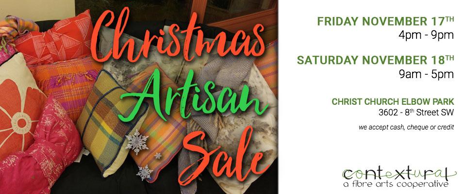 Contextural 2017 Artisan Christmas Sale